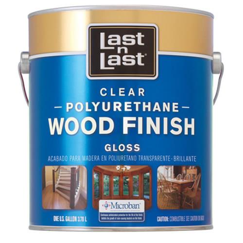 Last N Last Oil-Based Clear Polyrethane Wood Finish Gloss