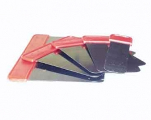 Viva Blue Steel Venetian Plaster Spatulas - Set of Five Finishing Blades