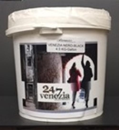 Venezia 24/7 Lime Plaster-Black 4.5 KG (Gallon)