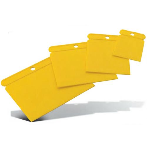 Pajarito Plastic Venetian Plaster Spatula Set of 4