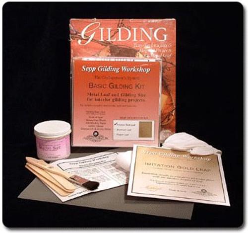 Sepp Gilding Workshop Basic Gilding Kit Composition Gold