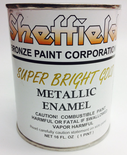 Sheffield 4740 Super Bright Gold Enamel Paint Pint