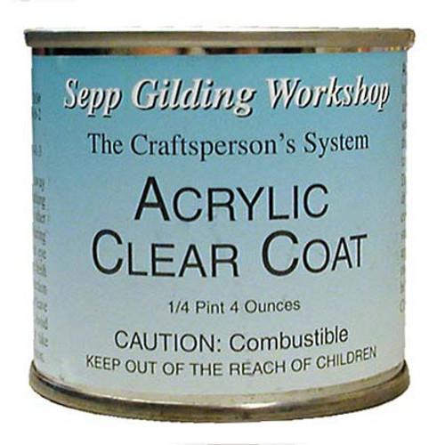 Sepp Leaf Acrylic Clear Coat 4-Ounce