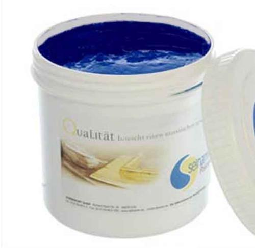 Selhamin Poliment Bole Burnishing Clay for Gilding 1kg - Latium Blue