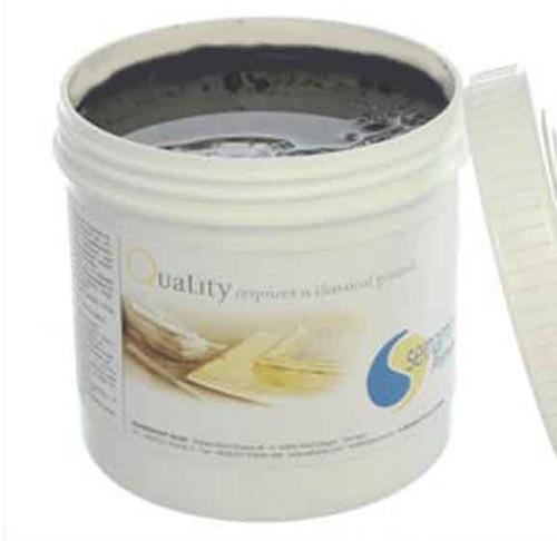Selhamin Poliment Bole Burnishing Clay for Gilding 1kg - Campanian Grey