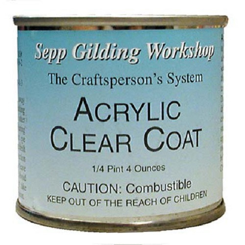DUX Topcoat Clear Gloss, 4 oz (packed for Sepp Gilding Workshop)