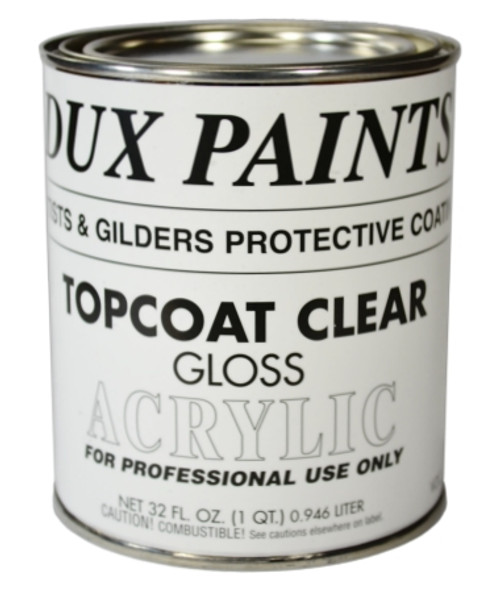 DUX Topcoat Clear Gloss, One Quart
