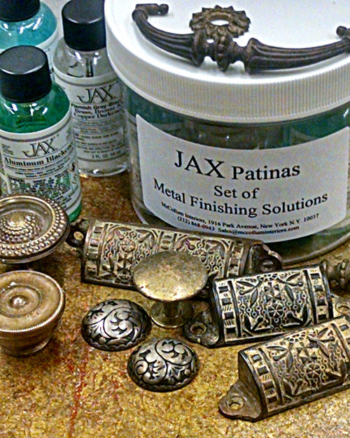 Set of Seven 2 ounce Jax Patinas