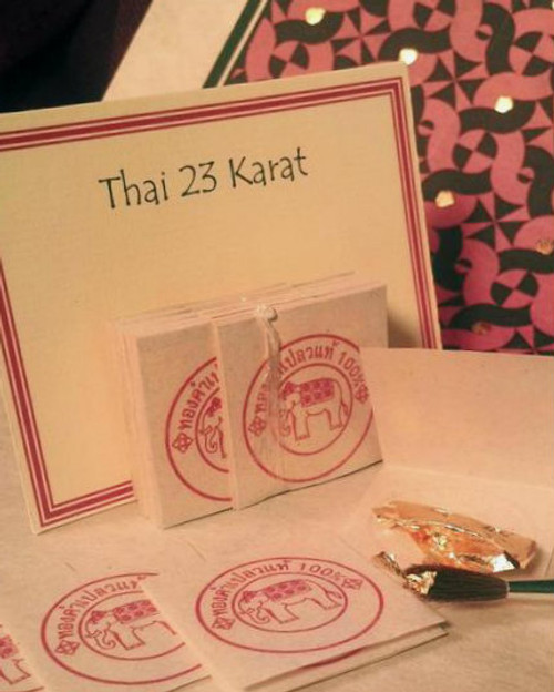23 Karat Thai Mini Leaves