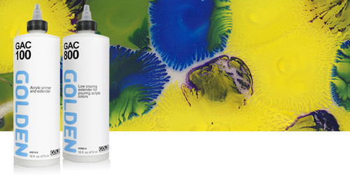 Golden GAC 100 Acrylic Primer and Extender