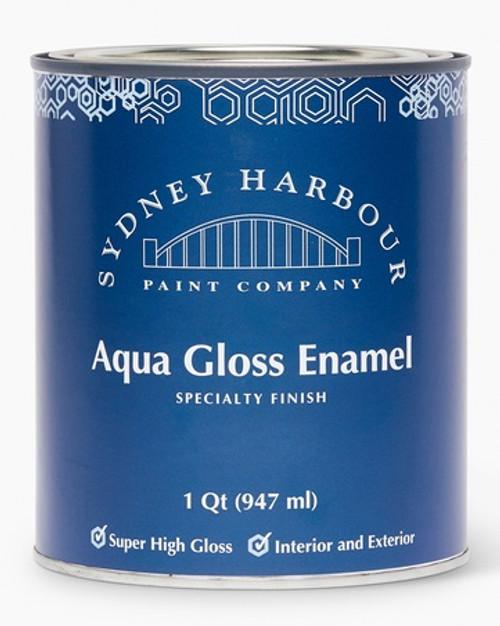 Sydney Harbour Premium Zero VOC Acrylic Paint Aqua Gloss Enamel
