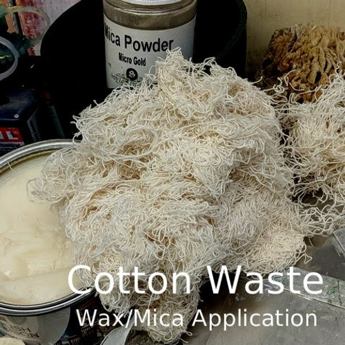 Natural 100% Cotton Waste