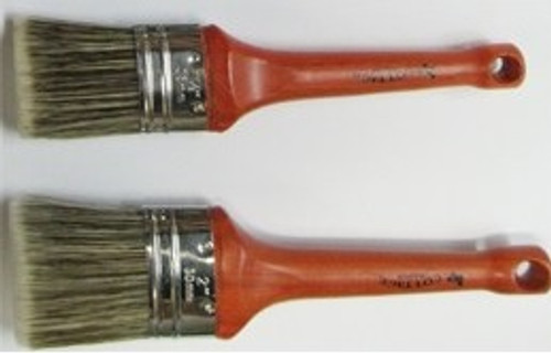 Cottage Paint Oval Wax Brushes
