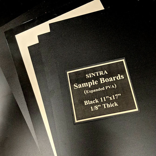 Sintra Sample Boards