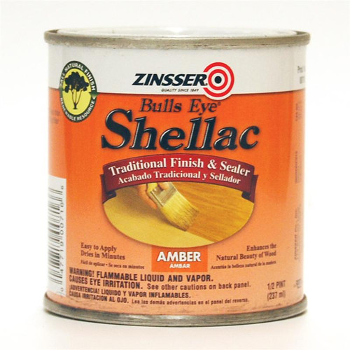 Zinsser Bulls Eye Shellac Amber