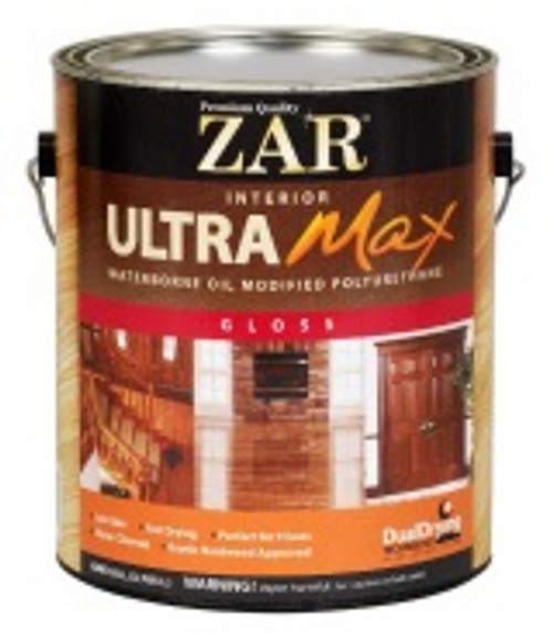 ZAR Ultra Max Waterborne Oil-Modified Polyurethane-Quart