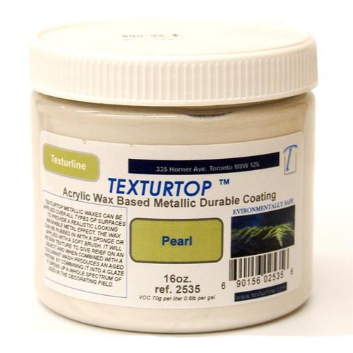 TexturTop Acrylic Wax-16 oz Pearl