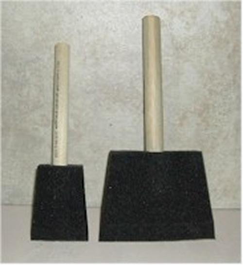 """Jen Poly Foam Brushes 2"""" & 4"""""""