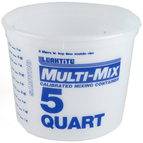 Leaktite Multi-Mix 5 Quart All-Purpose Container