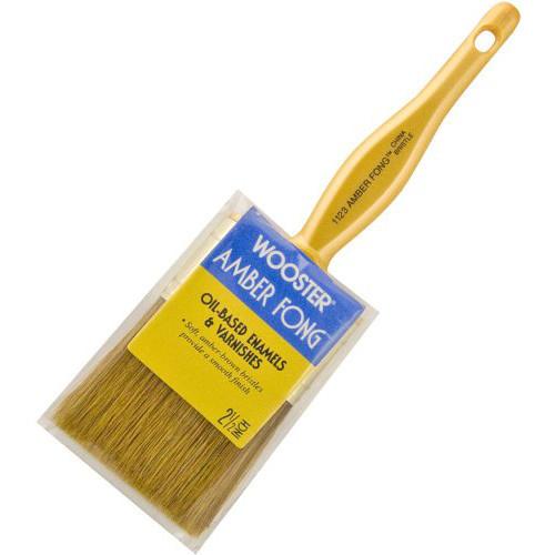 Amber Fong Flat Paintbrush