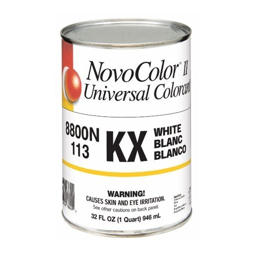 NovoColor II Zero VOC 8800N Colorant - KX - White Quart