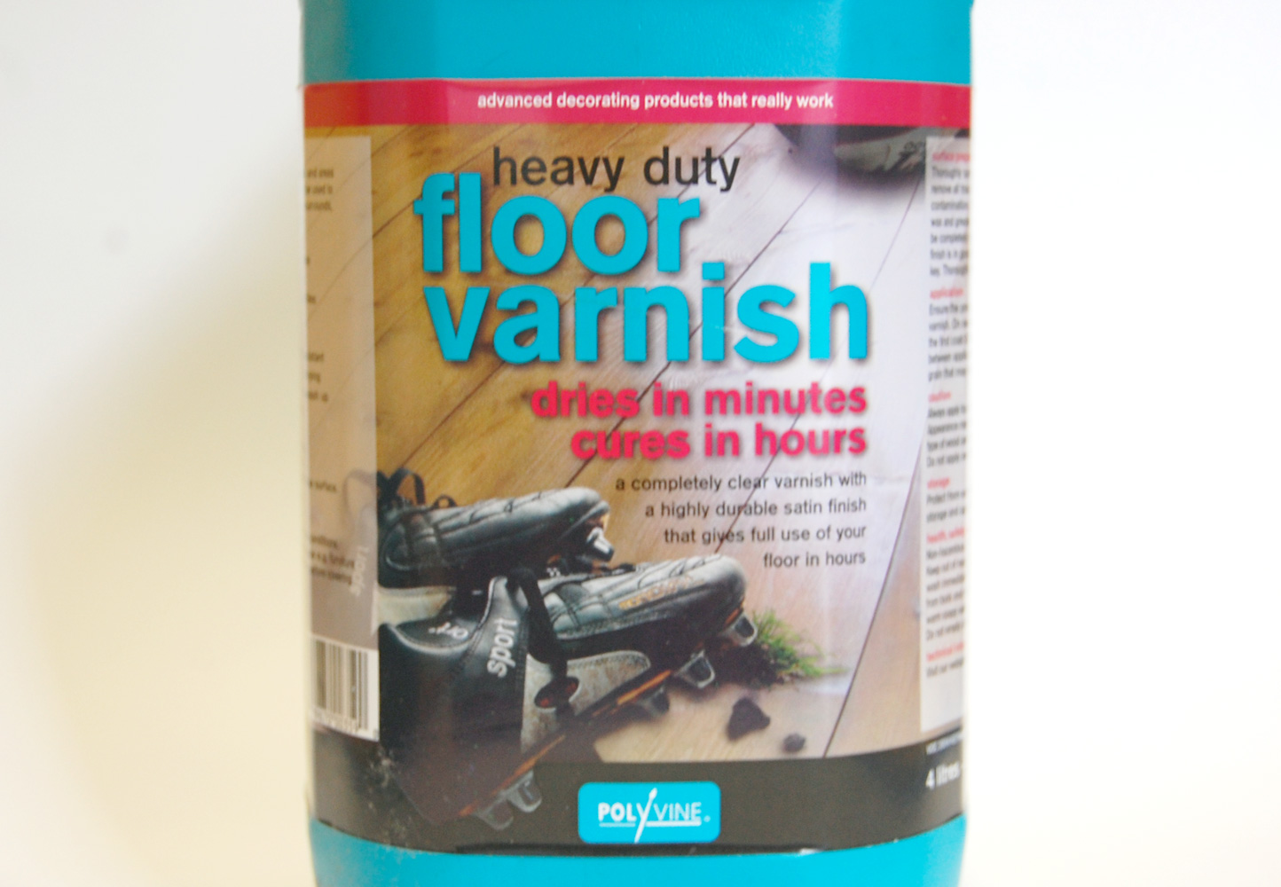 Heavy Duty Floor Varnish
