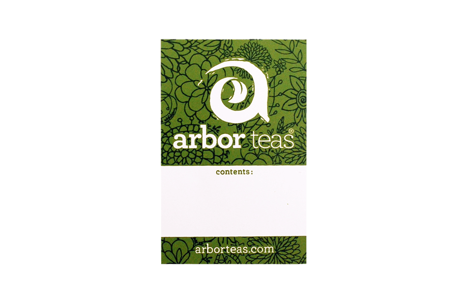 Arbor Teas Label
