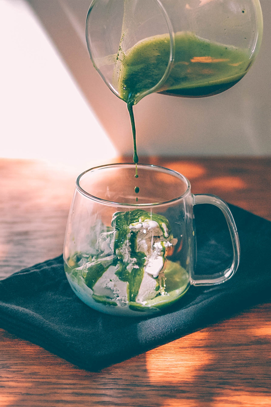 Matcha Affogato Recipe