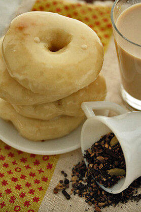 Masala Chai Spiced Donut Recipe