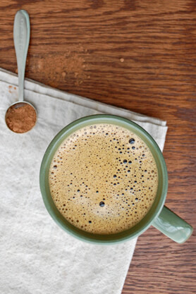 Chocolate Chaga Latte Recipe