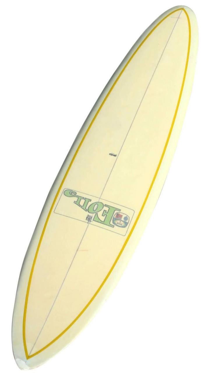 1965 Bing Foil Clear Deck Surfboard, Glassed-in Fin, Rare - SURFING ...
