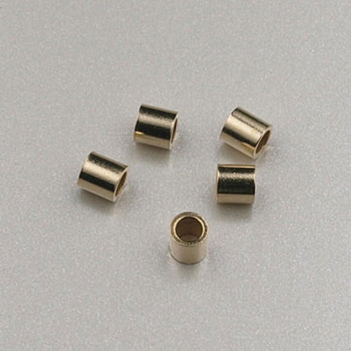 GF0038 - 2x2 Crimps, Gold-Fill (pkg of 50)
