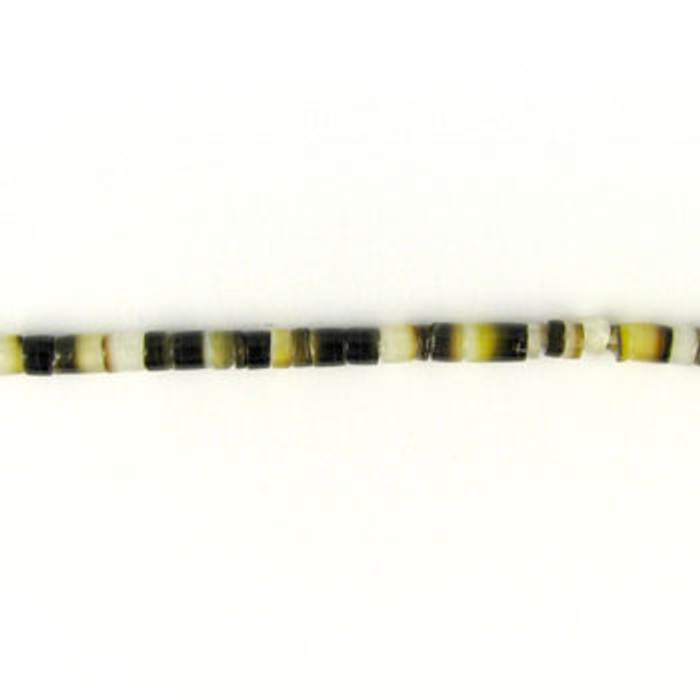 HB0004 - Black Lip Heishi Beads (24 in. strand)