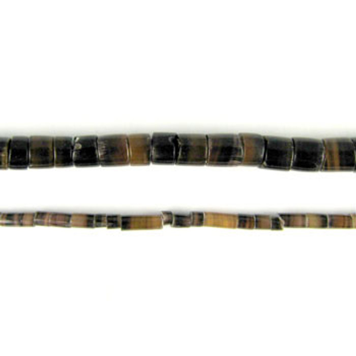 HB0008 - Dark Penshell Heishi Beads (24 in. strand)