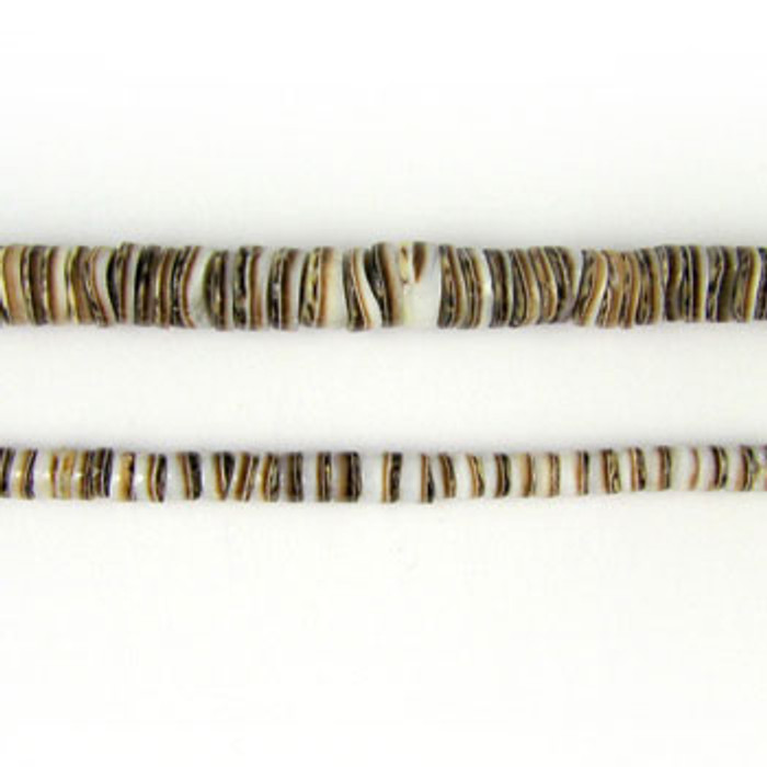HB0016 - Olive Heishi Beads (24 in. strand)
