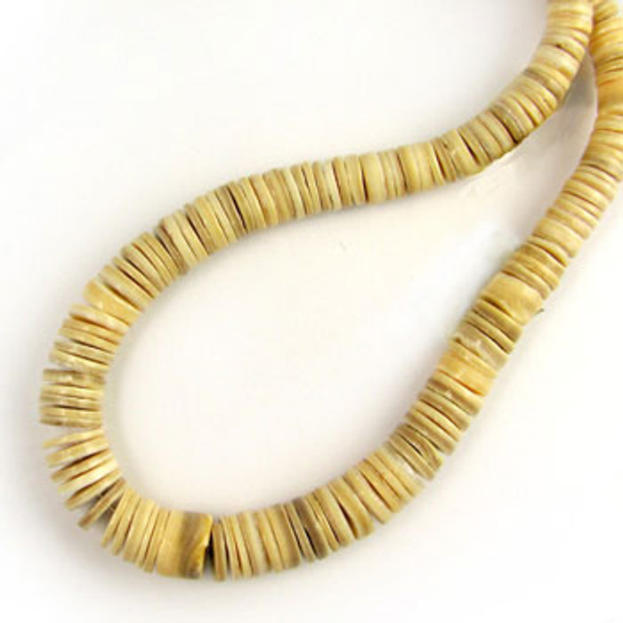 HB0024 - Melon Tapered Heishi Beads, 4mm-8mm (16 in. strand)