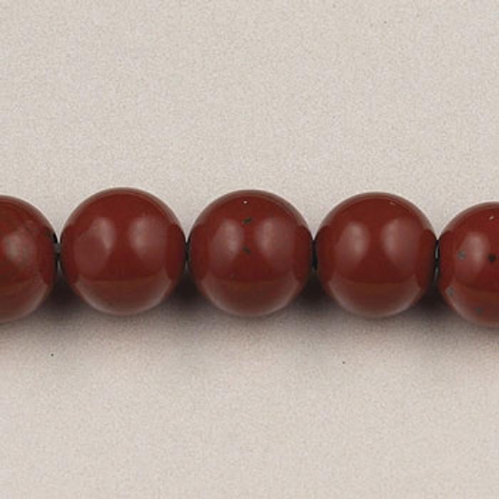 SPS0069 - Red Jasper, 4MM Round (16 in. strand)