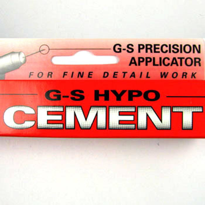 TO0077 - G-S Hypo Cement (for fine detail work) 1/3 fl. oz