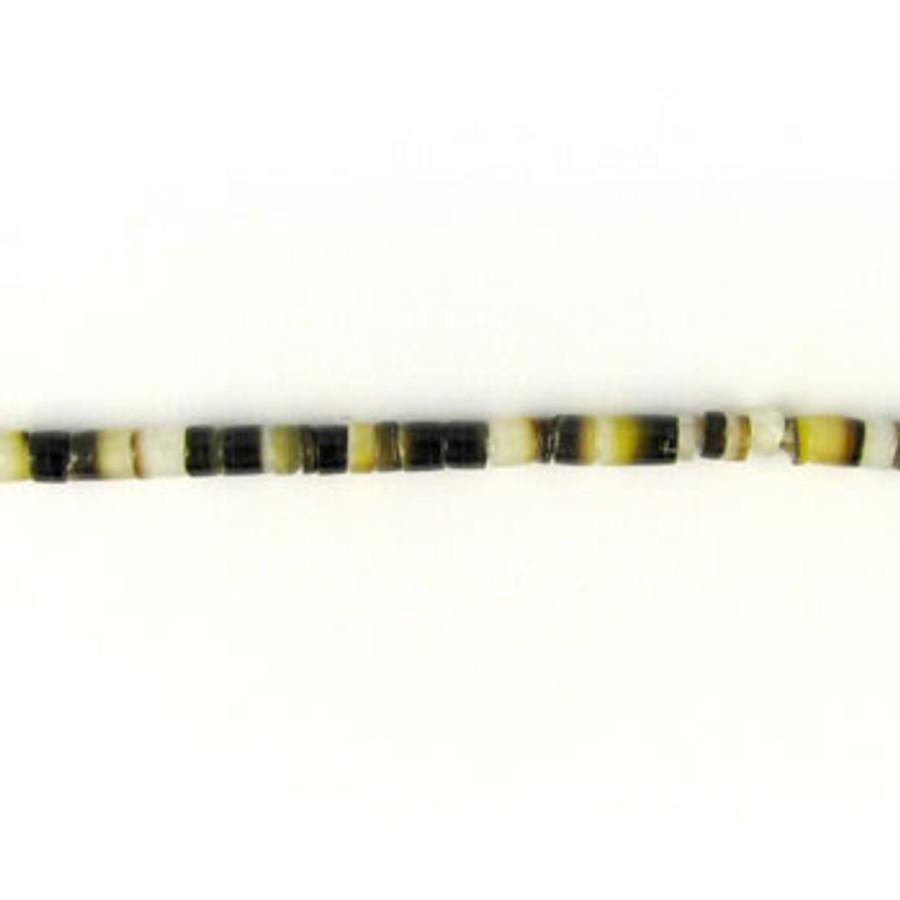 HB0004 - Black Lip Heishi Beads (24 in. strand)