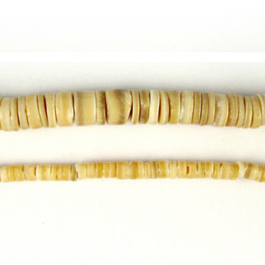 HB0013 - Melon Heishi Beads (24 in. strand)