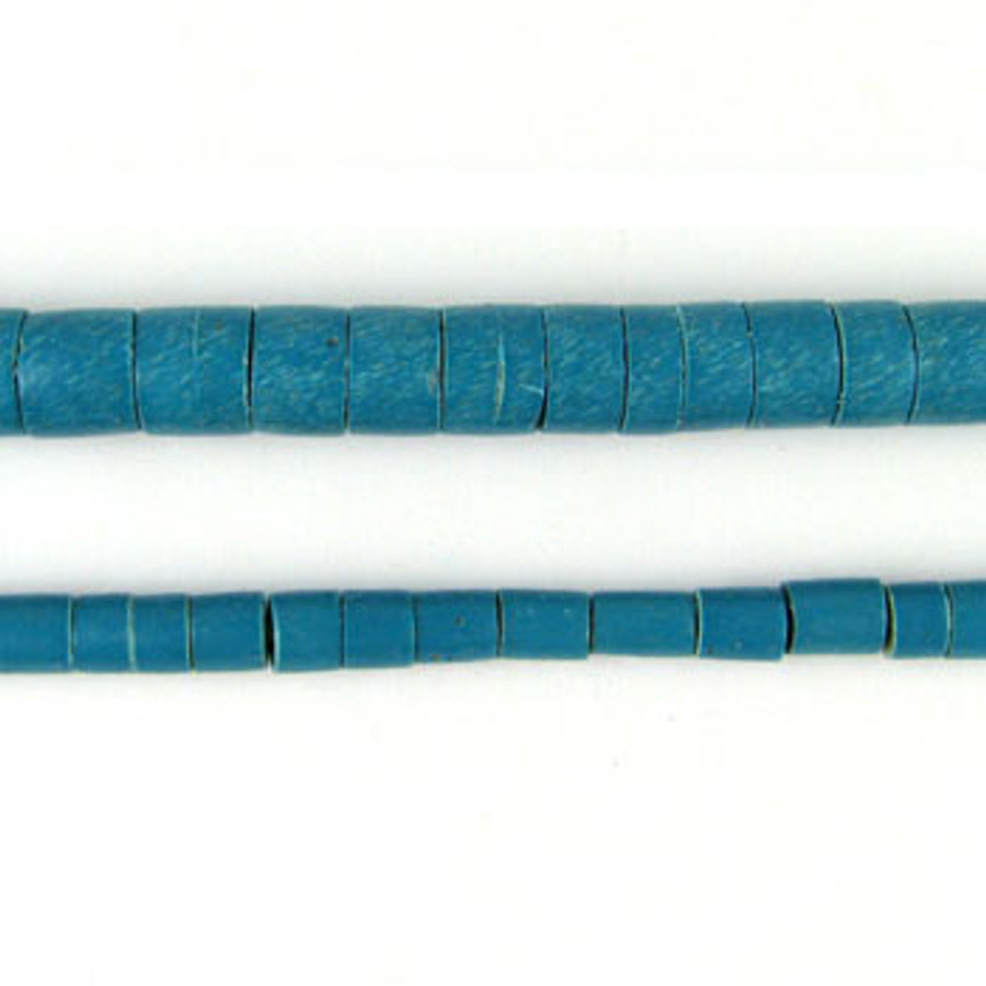 HB0017 - Phillipine Turquoise Heishi Beads (24 in. strand)