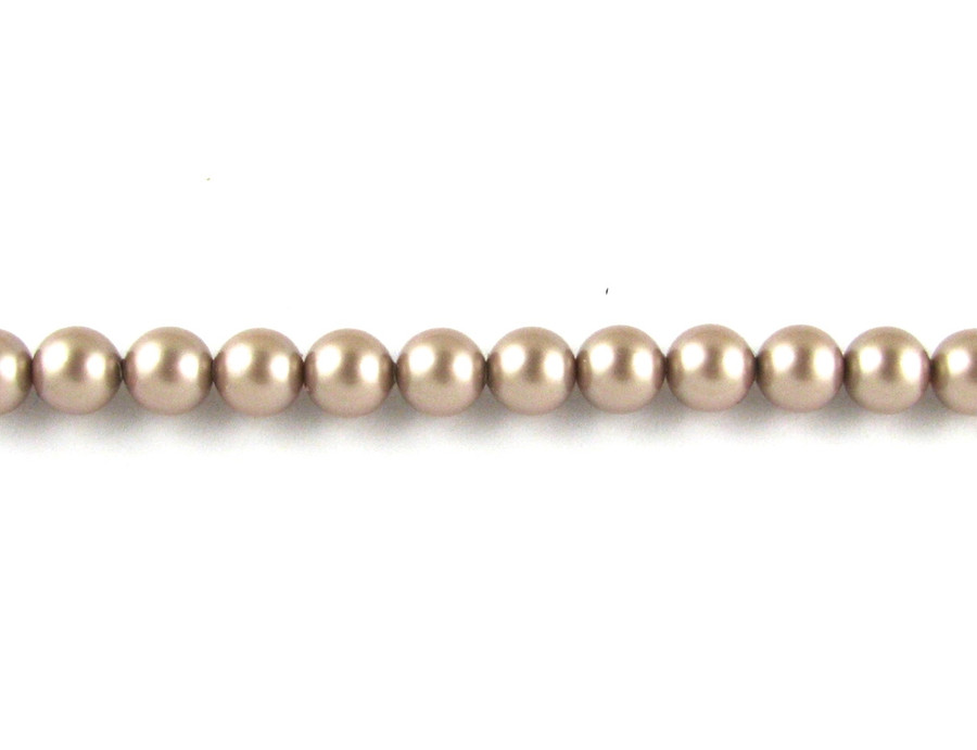 SWP012 - Powder Almond Swarovski Pearl