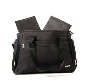 Nappy Bag Twin - Black