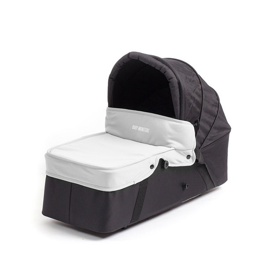 Easy Twin Carrycot Grey