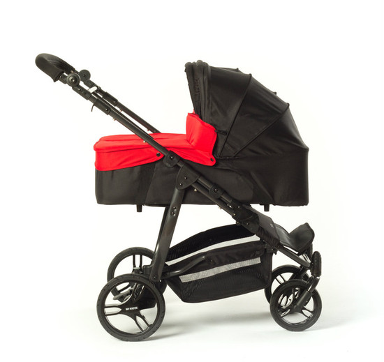 Easy Twin Carrycot Red