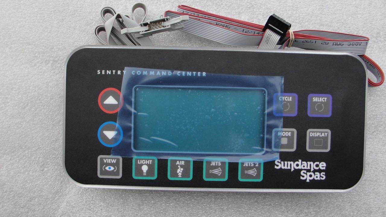 6600 892 Formerly 6600 893 Sundance 174 Spas Control Panel 2