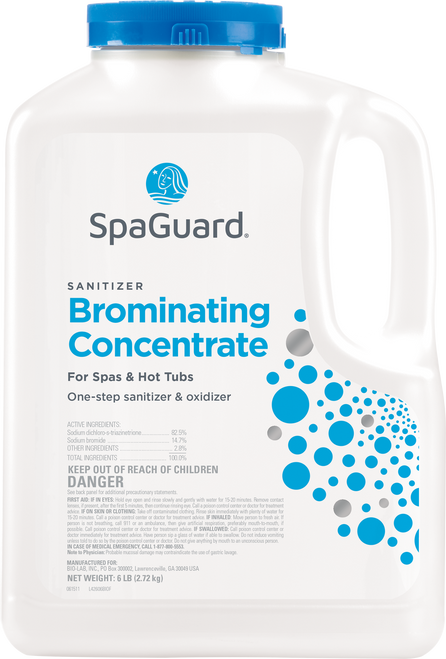 SpaGuard 6 lbs Brominating Concentrate - Lowest Price - Free Shipping