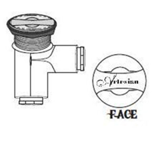 OP08-0005-48 - Artesian Spas On/Off Valve