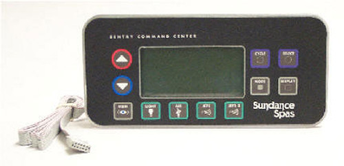 6600-152 Sundance Spa Side Control, 2 pump w/ 75 ft, harness, For Inground Spas