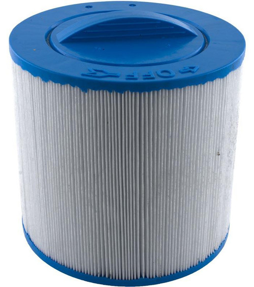 "Spa Filter Baleen: AK-9011, OEM: 90-802, Pleatco: PTL20W-SV-P4-4 , Unicel: 6CH-25 , Filbur: FC-0305, Diameter: 6"", Length: 5-1/2"""